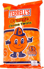 Terrell's Orange Cheese Twists