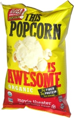 This Popcorn Is Awesome Movie Theater Organic Butter Flavor