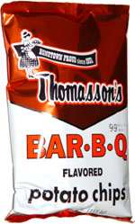 Thomassons Bar-B-Q Flavored Potato Chips