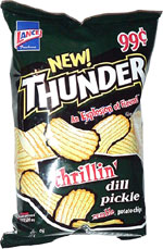 Thunder Thrillin' Dill Pickle Rumble Potato Chips