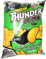 Thunder Boomers Jumpin' Jalapeño Cheddar Kettle Cooked Potato Chips