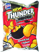 Thunder Boomers Quakin' Cajun Kettle Cooked Potato Chips