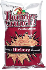 Thunder Crunch! Potato Sticks Hickory Flavor