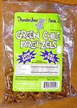 Green Chile Pretzels