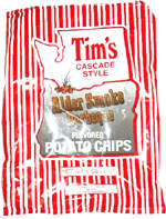 Tim's Cascade Style Alder Smoke Barbeque Flavored Potato Chips