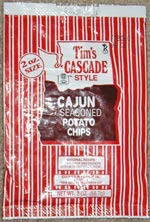 Tim's Cascade Style Cajun Seasoned Potato Chips