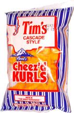 Tim's Cascade Style Hoods Cheez'd Kurls