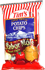 Tim's Potato Chips Sabor Mole
