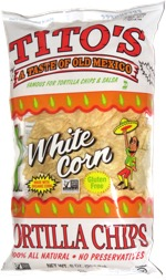 Tito's White Corn Tortilla Chips