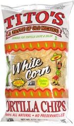 Tito's White Corn Tortilla Chips