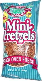 Toad-Ally Snax Mini-Pretzels