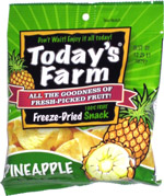 Today's Farm Freeze-Dried Pineapple