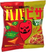 Tohato Bokun Habanero Pizza Potato Snacks