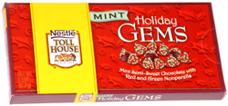 Nestle Toll House Mint Holiday Gems