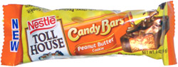 Nestle Toll House Candy Bars Peanut Butter Cookie