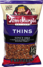 Tom Sturgis Artisan Thins Pretzels