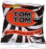 Tom Tom Strong Menthol Flavoured Candy