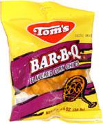Tom's Bar-B-Q Flavored Corn Chips