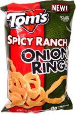 Tom's Spicy Ranch Onion Rings