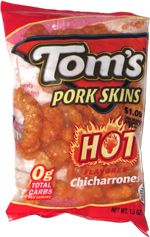 Tom's Pork Skins Hot