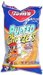Tom's Puffed Cheezers