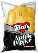 Tom's Salt & Pepper Potato Chips