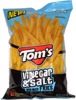 Tom's Vinegar & Salt  Oven-Baked Fries