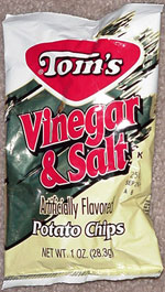 Tom's Vinegar & Salt Potato Chips