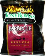 Tony Roma's Barbecue Seasoned Kettle Style Potato Chips