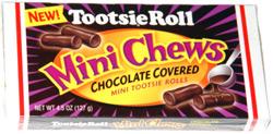 Tootsie Roll Mini Chews Chocolate Covered Mini Tootsie Rolls