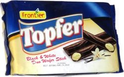 Topfer Black & White Duo Wafer Stick