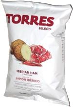Torres Selecta Iberian Ham Premium Potato Chips