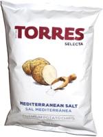 Torres Selecta Mediterranean Salt Premium Potato Chips