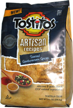 Tostitos Artisan Recipes Toasted Southwestern Spices
