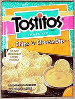 Tostitos Chips Amp Cheese Dip Snack Kit