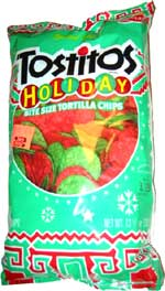 Tostitos Holiday Bite Size Tortilla Chips