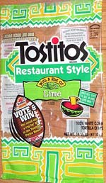 Tostitos Restaurant Style With A Hint of Lime Tortilla Chips