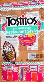Tostitos Restaurant Style White Corn Tortilla Chips