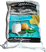 Tostitos Sensations Southwestern Ranch with Black Peppercorn Tortilla Chips