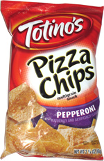 Totino's Pizza Chips Pepperoni