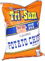 Tri-Sum Bar-B-Que Flavored Potato Chips