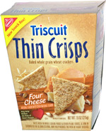 Triscuit Thin Crisps Four Cheese