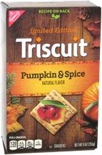 Triscuit Pumpkin & Spice