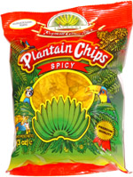 Tropical Gourmet Plantain Chips Spicy