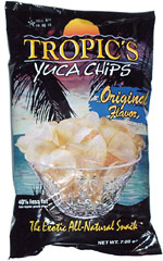 Tropic's Yuca Chips Original Flavor