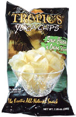 Tropic's Yuca Chips Sour Cream 'n Onion