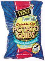 Troyer Farms Low Fat Crinkle Cut Potato Chips