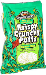 Krispy Crunchy Puffs Natural Corn