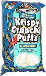 Krispy Crunchy Puffs Ranch & Herb