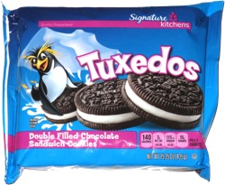 Tuxedos Double Filled Chocolate Sandwich Cookies